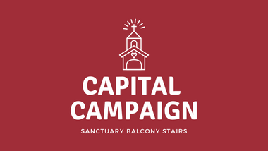 Capital Campaign – Sanctuary Balcony Stairs