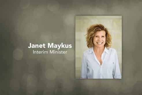 Interim Minister Janet Maykus
